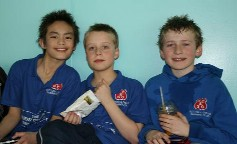 William, Michael & George - Surrey Sprint Medallists