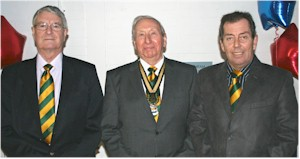 Ron Moore, Fred Andrews & Terry Bolton
