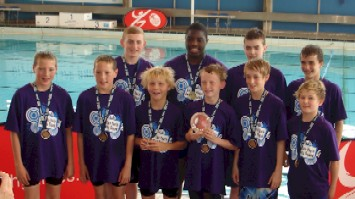 Youth Games Water Polo Gold Medallists