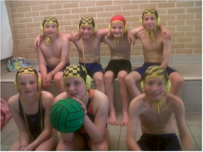 Under 13 Water Polo team