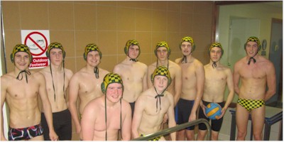 Under 18 Water Polo Team