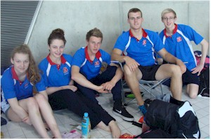 Some of the club's Regional Qualifiers